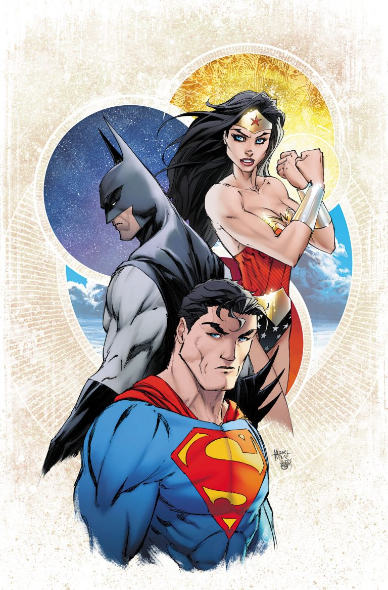 Justice League 1 Michael Turner Exclusive Cover