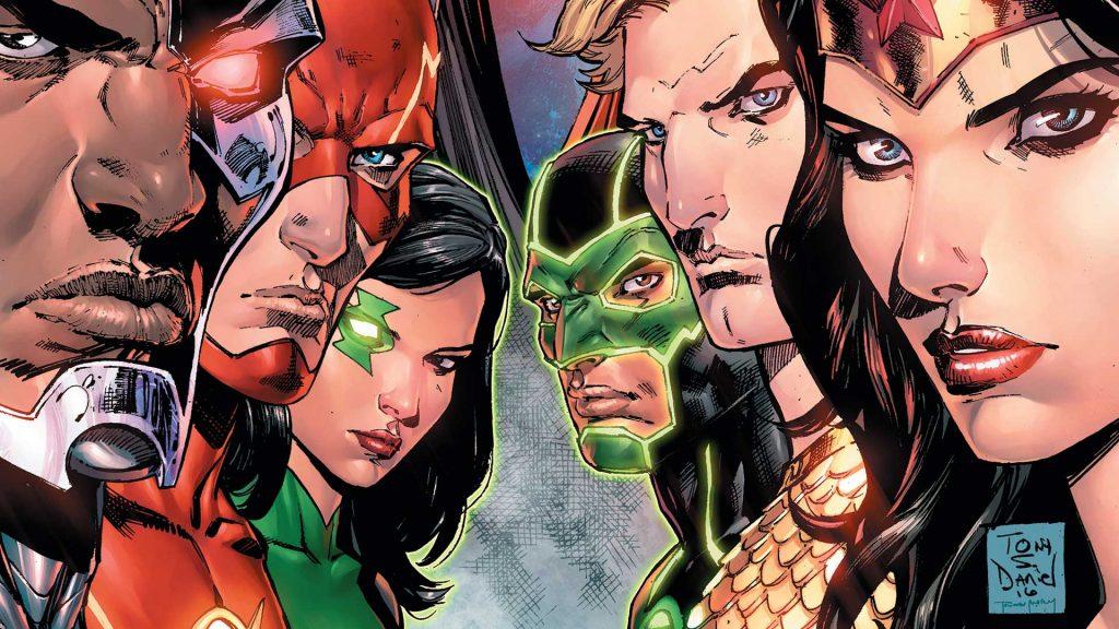 Justice League Rebirth 1 cover