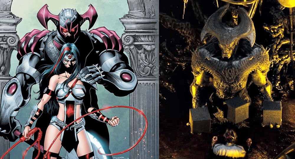 Darkseids uncle Steppenwolf in Suicide Squad