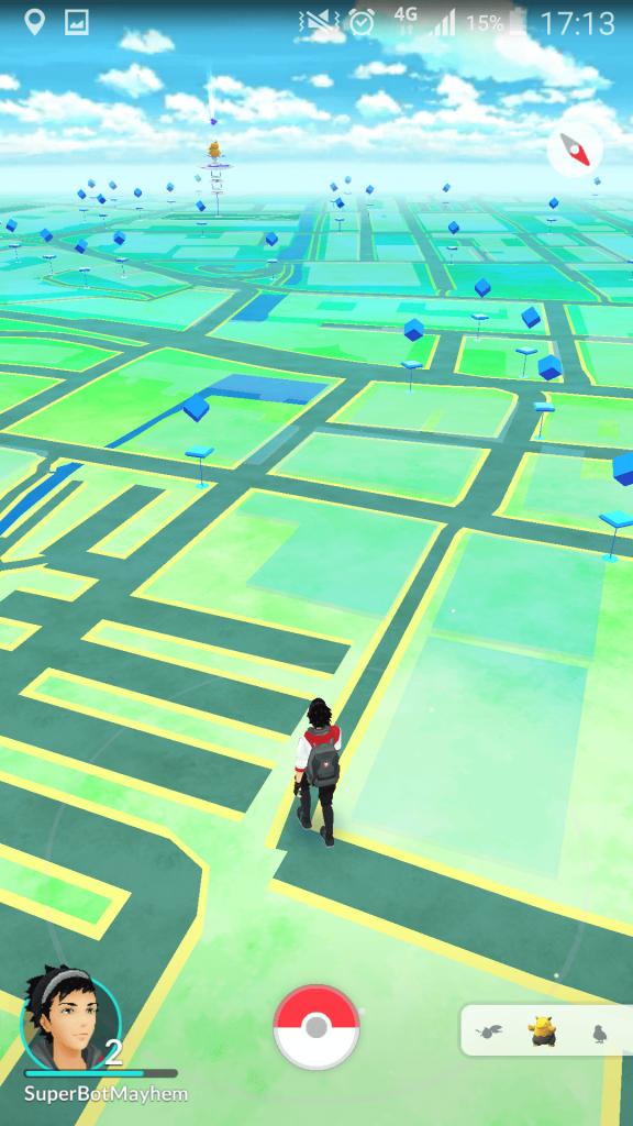 Pokemon Go Land Mark Locations Image