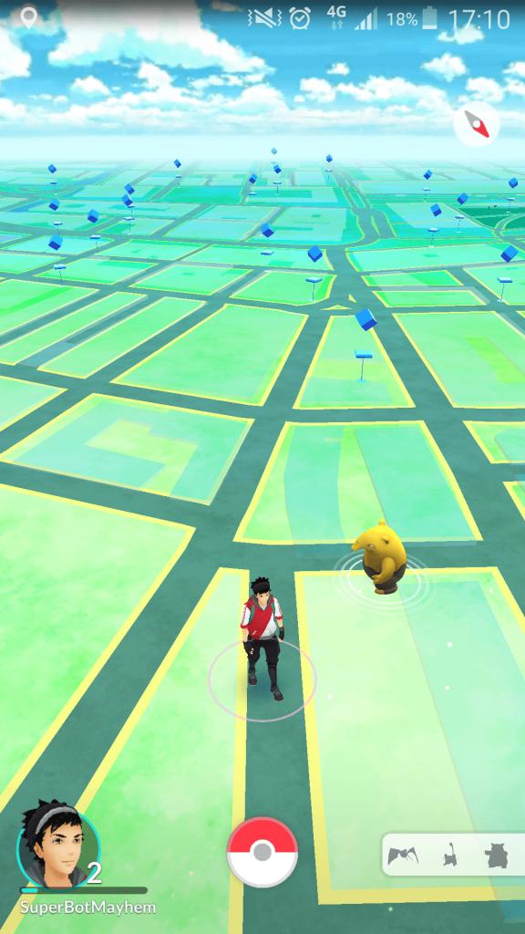 Pokemon Go Map Image