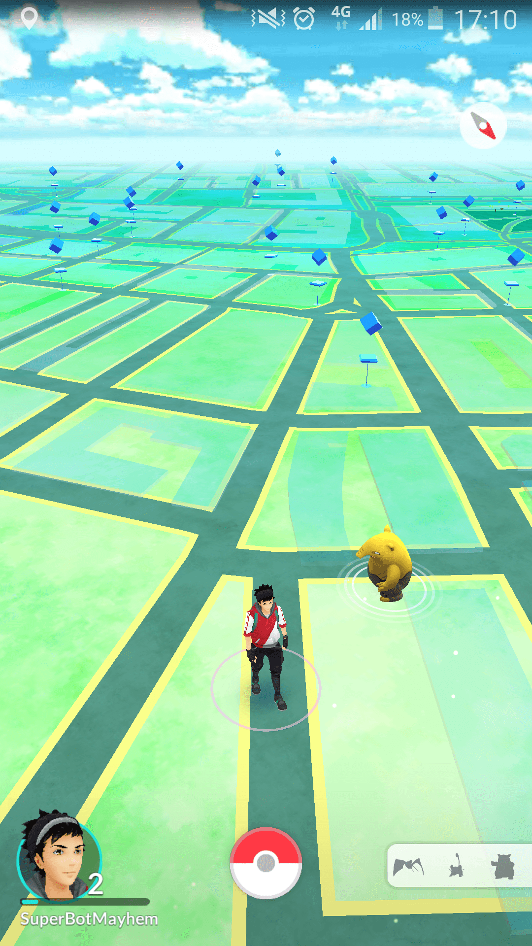 how to make a location for pokemon go