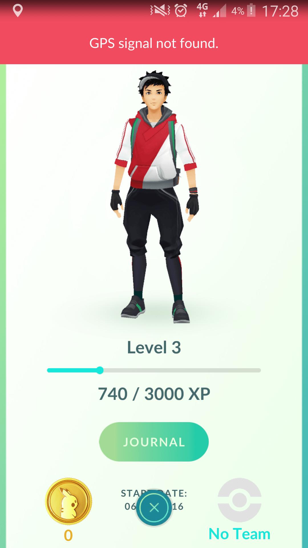 Pokemon Go User Profile Image