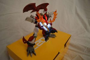 Magma Dragoon light up