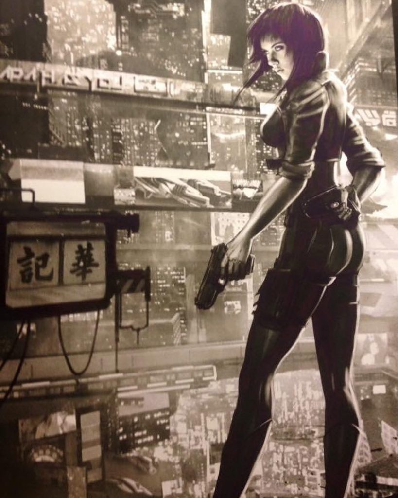 scarlett johansson Ghost in the shell poster | Image