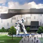 Gundam Unicorn at Diver city