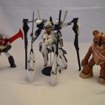 RX-124 with bear guy and mazinger