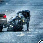 batman bike damaged in stunt