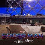 spiderman no way home set